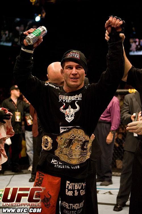 Sean Sherk UFC lightweight world champion